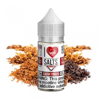 Classic Tobacco 10ml - I Love Salts - Mad Hatter