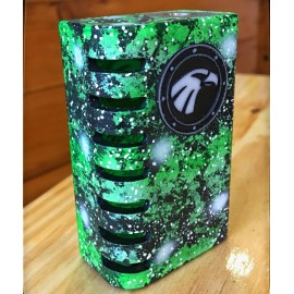 Raptor 21700 Full Engraved Green - Mods Artesanales