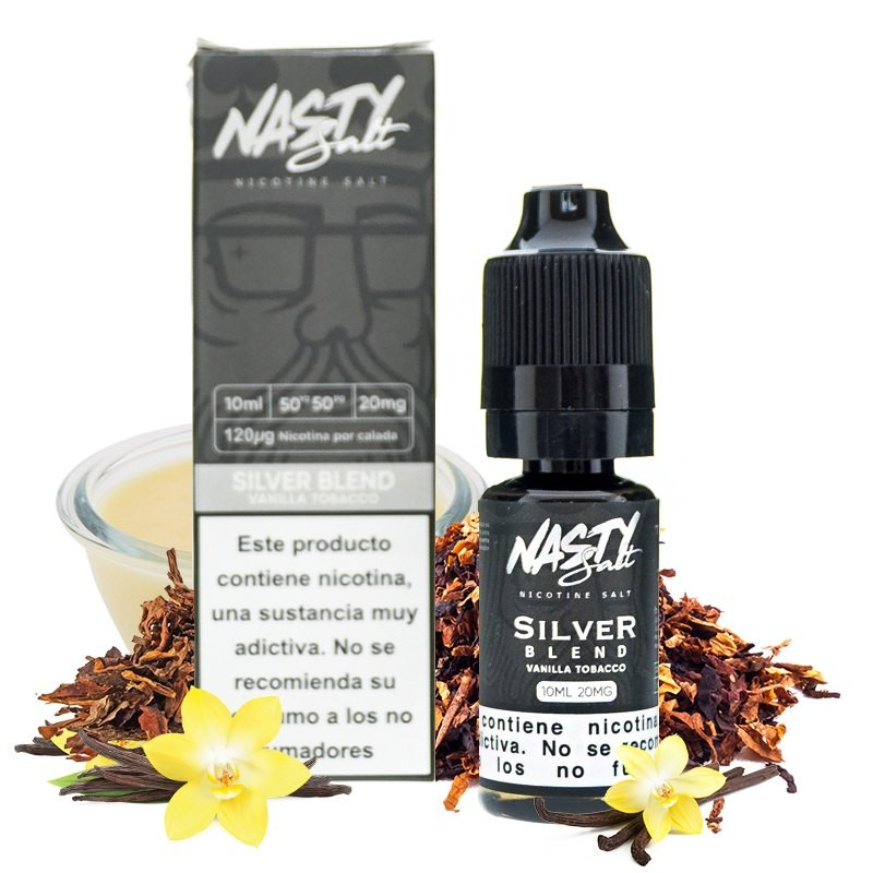 Silver Blend 10ml - Sales - Nasty Juice