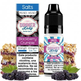 Blackberry Crumble 10ml Salts - Dinner Lady