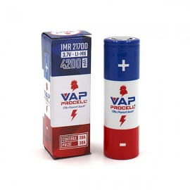 IMR 21700 Power (4200 mAh 20 A) - Vap Procell