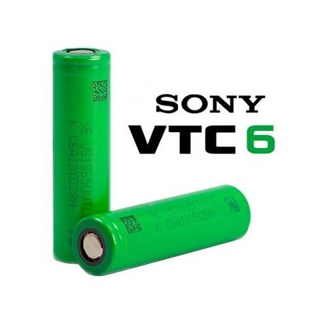 Batería 18650 VTC6 Grado A Murata (3000mAh 30A) - Sony