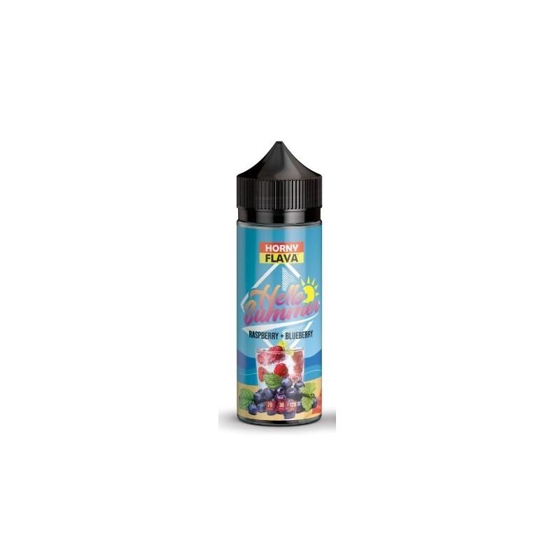 Raspberry + Blueberry 100ml - Horny Flava
