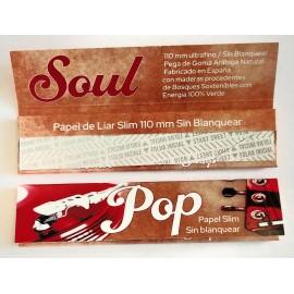 Librillo de papel XL King Size - Rock-Soul-Pop